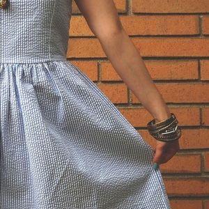 Spring Seersucker Dress